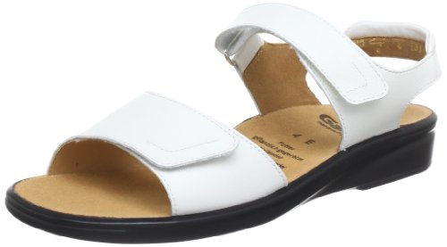 Ganter Sonnica, Weite E Sandals Womens White Weià (weiss 0200) Size: 5 (38 EU)