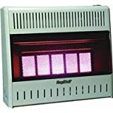 World Marketing/Kozy World Model # KWN321 Wall Heater - Natural Gas/Infrared Vent Free ~ 30,000 BTU's ~ Kozy World from World...