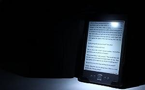 ForeFront Cases® Noir Flexible LED Strip Lecture Léger Lampe pour Lecture / Amazon Kindle / Kobo / Nook etc