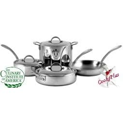 CIA Masters Collection 7-Ply Copper Clad Stainless Steel 7 Piece Cookware Set