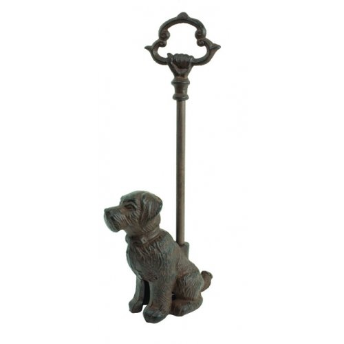 Dog Doorstop Door Porter Scottie Puppy (Cast Iron Dog Door Stop compare prices)
