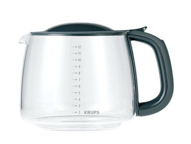 Krups F15B0G 12-Cup Glass Carafe, Black