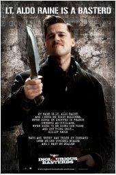 Movies Posters: Inglourious Basterds - Lt. Aldo Raine Speech Poster - 61x91.5cm (Aldo Raine compare prices)