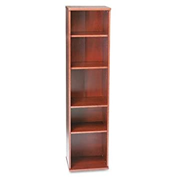 Series C: Open Single Bookcase Finish: Light Oak