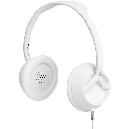 Nixon Trooper 3-Button Mic Headphones Matte White, One Size