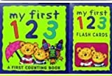 My First 123 Counting Book with 26 Flash Cards (0752581473) by Parragon