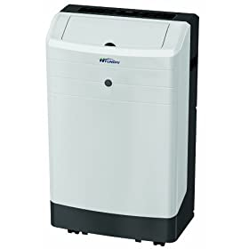 Hyundai HYU-P10CR 10,000 BTU Cooling Only Portable Air Conditioner, Electronic control with remote & without water tank