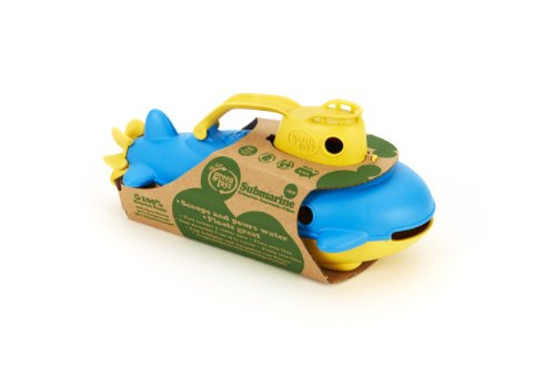 The Original Green Toys Submarine (Colors May Vary) - 1
