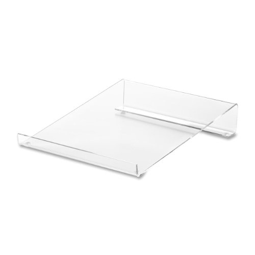 Compucessory Ccs28951 Acrylic 9 X 11 X 2 Inches Calculator Stand, Clear