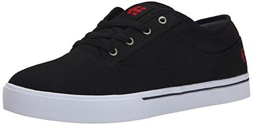 Etnies Men's Jameson Lace Up Shoe, Black/White/Red, 7 D US