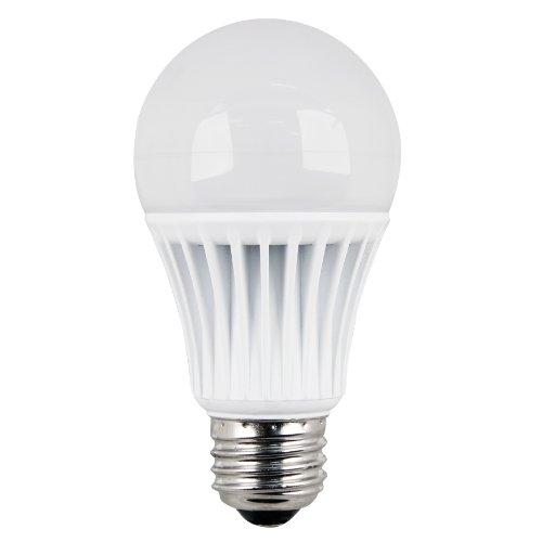 Utilitech 9.9-Watt (60W Equivalent) A19 Medium Base 557095 (E-26) Warm White Led Bulb