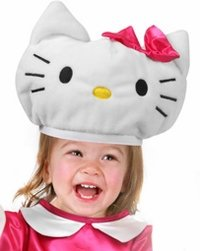 Childs Hello Kitty Costume Hat (Size: Youth Standard Size)