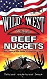 Wild West Nuggets Beef Jerky Original 100g (Pack of 12)