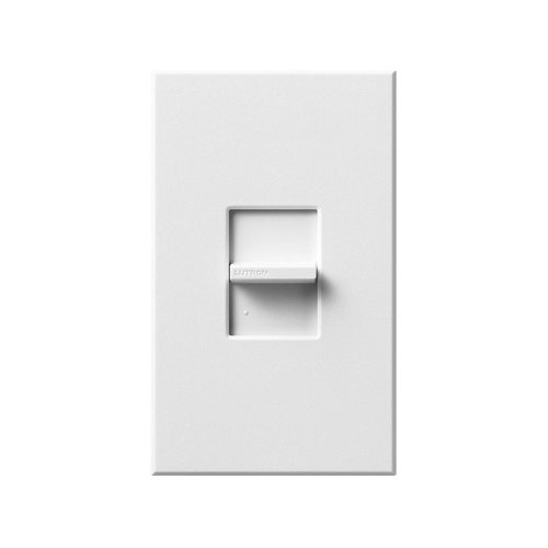 Lutron - Ntstv-Dv-Wh - Lighting Dimmer, Slide, 1-Pole, White