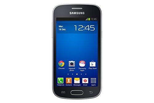 Samsung Galaxy Trend Lite Smartphone débloqué 3G+ (Ecran : 4 pouces – 4 Go – Android 4.1 JellyBean) Noir
