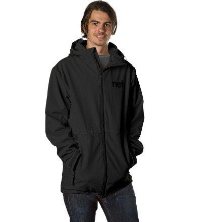 Neff Daily Softshell Jacket - Men's Black, XXL