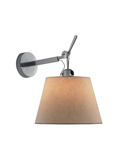 Artemide Tolomeo Lámpara De Pared Aluminio Ø 32 H 40,6 P 48,8 cm