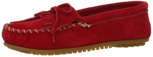 Minnetonka Womens Kilty Moccasin