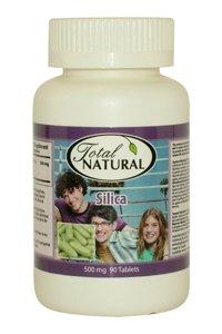 [2 Bottles] Silica 500Mg 90T - Restore Skin Elasticity Health Solution
