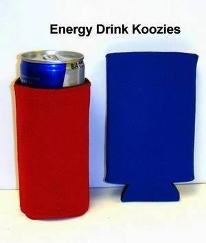 Energy Drink Can Cooler Koozie - Case Pack 200 Sku-Pas1042554 front-1078712