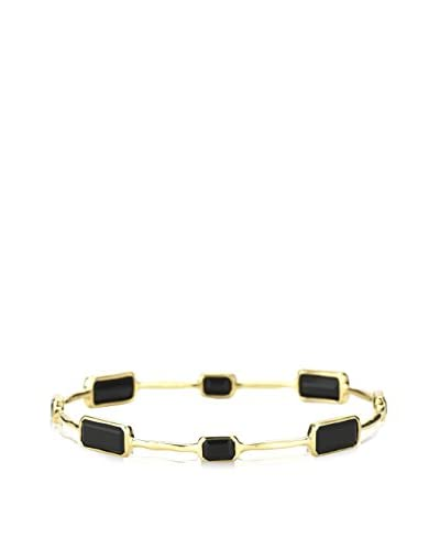 Ippolita Lollipop 18K Yellow Gold & Black Onyx Bangle Bracelet