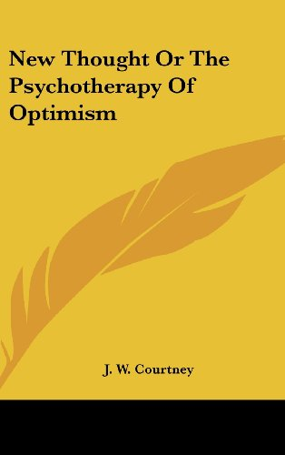 New Thought or the Psychotherapy of Optimism