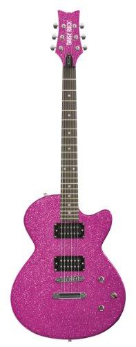 Daisy Rock Candy Guitare électrique classique Atomic Pink