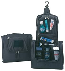Zippered Hanging Travel Mate Toiletry Kit