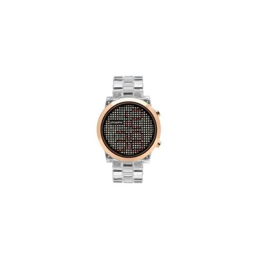 時計 Phosphor レディース MD010L Swarovski Mechanical Digital Watch [並行輸入品]