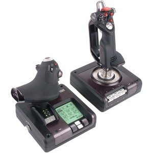 Saitek Ps34 X52 Pc Pro Flight Control System (Video Game Access / Computer Gaming)