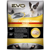 EVO Turkey & Chicken Formula Small Bites Dry Dog Food