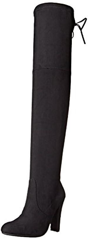 Steve Madden Women's Gorgeous Winter Boot, Black, 9.5 M US