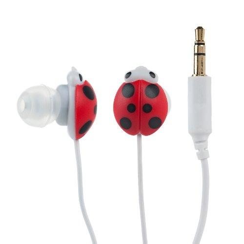 Ear Plug- Lady Bug