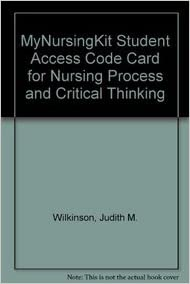 wilkinson 2007 nursing process and critical thinking