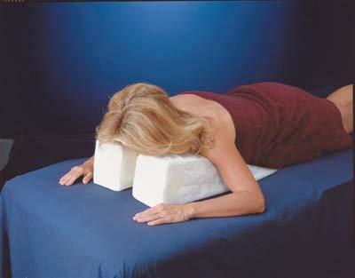 28 Quot Relax N Nap Pillow Memory Foam Face Down Pillow