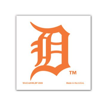 Detroit Tigers 4-Pack Face Tattoos