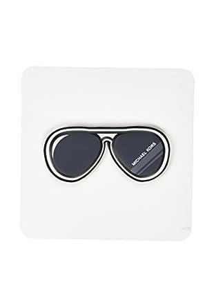 Michael Kors Pegatina Aviator Sunglasses (Negro)