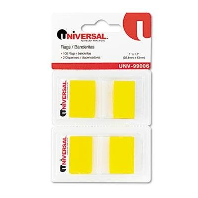 universal-one-8-pack-page-flags-yellow-50-flags-dispenser-2-dispensers-pack-product-category-labels-