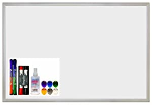 ECR4Kids Message Store Dry Erase Bulletin Board Set, 24