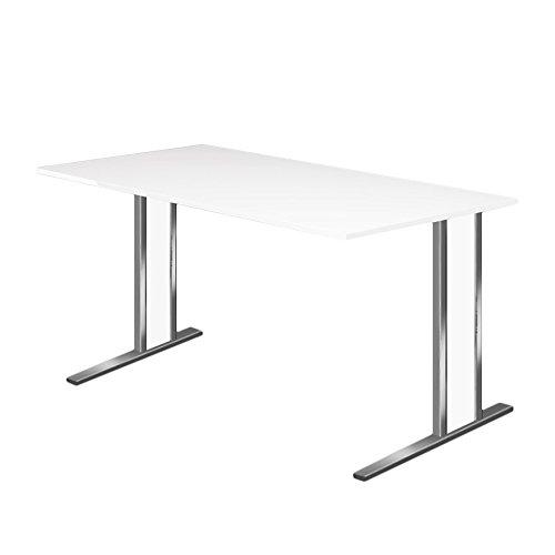 Kerkmann escritorio Aveto C-pie Medidas 1600 x 800 x 750 mm blanco