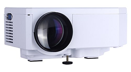 Projectors , Multimedia Mini Portable HD LCD LED Projection Micro Pico Projector Home Cinema Theater ,Support 1080P Video Music TXT with HDMI/VGA/SD/USB/AV Input ,for Iphone Galaxy Laptop PC Mac (Micro Sd To Av compare prices)
