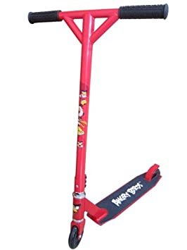 Angry Birds-Trottinette freestyle Rouge