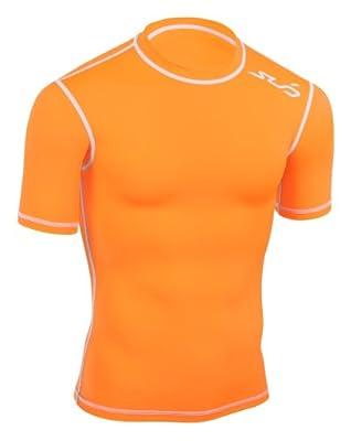 Sub Sports DUAL Men's Compression Baselayer Short Sleeve Top