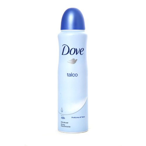 DOVE DEO SPRAY 150ML TALCO