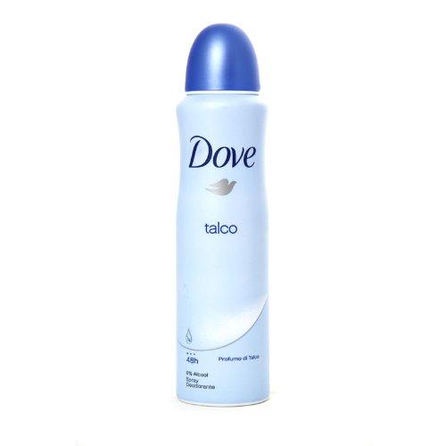 DOVE DEO SPRAY 150ML TALCO
