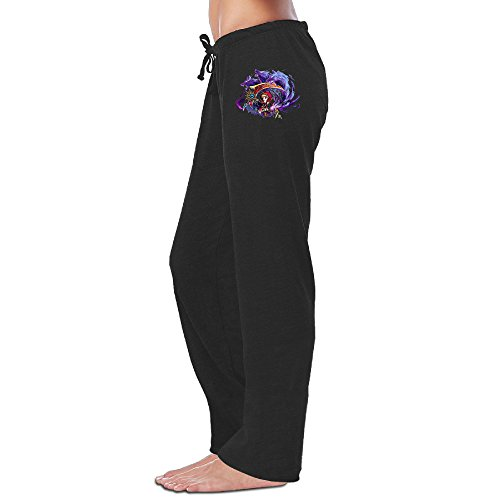 MEGGE Women's Brave Frontier 3 Elastic Athletic Lounge Pant Black XL (Gems For Brave Frontier compare prices)
