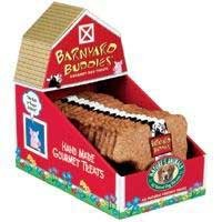 Nature's Animals Inc. DNT00363 18-Pack Barnyard Buddies Bacon and Cheese Biscuit, Cow Shaped