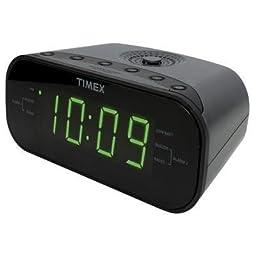 Timex T231G Dualalarm Clock Radio Gunmetal