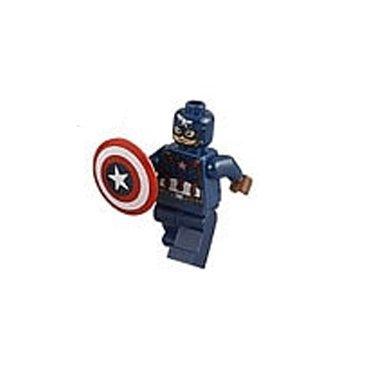 LEGO Super Heroes Marvel Minifigure - Captain America (Age of Ultron Version)