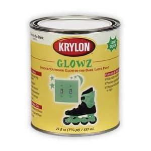 glow in the dark krylon half pint c glow in the dark spray paint. Black Bedroom Furniture Sets. Home Design Ideas
